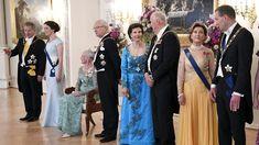 Suomi 100 -juhalan vieraat linnassa