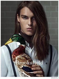 Travis Smith & Felix Hermans Front Brooksfield Fall/Winter 2014 Campaign image Brooksfield Fall Winter 2014 Campaign 001