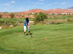 2014 - Coral Canyon Golf Course in Hurricane, Utah