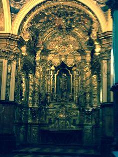 Altar mayor de la catedral de Albarracin, en Teruel