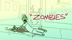 Raised By Zombies - Ep 1 - Zombies Zombies, Thankful, Neon Signs, Animation, Short Films, Ads, Walking Dead, Funny