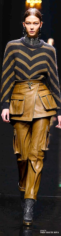 Balmain F/W 2014 - Paris Fashion Week♕PM