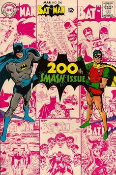 Cover for Batman (1940 series) #200