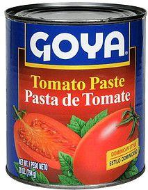 Number one tomato paste - Goya