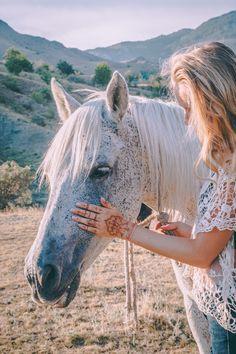 #Mountain #horse #henna #mehendi #sunset #nature #travel
