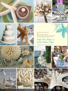 Seashell Blisshttp://www.beachweddingsbydeb.com/