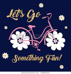 Find Text Yellow Pink Flower Bike Tee stock images in HD and millions of other royalty-free stock photos, illustrations and vectors in the Shutterstock collection. Baby Boy Dress, Design Girl, Kids Prints, Illustration Girl, Baby Shirts, Kids Wear, Fashion Prints, Pink Flowers, Graphic Tees