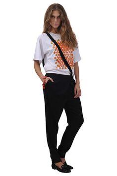 Sonia by Sonia Rykiel pants and tshirt , Red Valentino shoes