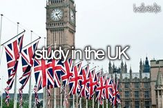 I am going to school here to study abroad