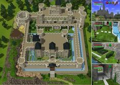 let your sims move to hyrule castle zelda universe Minecraft Medieval, Minecraft City, How To Play Minecraft, Minecraft Crafts, Minecraft Storage, Minecraft Kingdom, Minecraft Blueprints, Minecraft Designs, Minecraft Creations