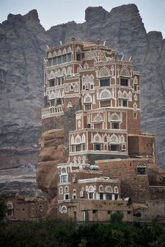 Wadi Dhar Rock Palace - Yemen