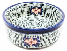 Polish Pottery Ramekin Dish by Ceramika Artystyczna