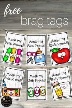 12 Tips to Make Your Sub Love You Free Substitute Teacher brag tags to keep your sub happy! Also grab free sub plans here! Brag Tags, Substitute Teacher Bag, Subsitute Teacher, Substitute Binder, Classroom Rewards, Music Classroom, Classroom Management, Classroom Ideas, Behavior Management