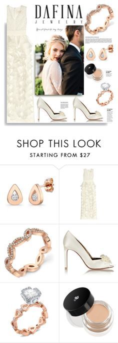 """Dafinajewelry.com: You will forever be my always...."" by hamaly ❤ liked on Polyvore featuring Giambattista Valli, Lanvin, Lancôme, ootd, jewerlry and dafinajewerly"