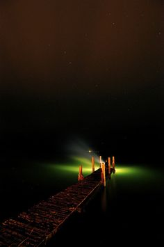 Dock Light by Leelanau Lab, via Flickr