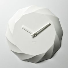 Rose wall clock by Lemnos Co
