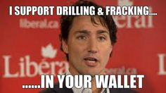 Trudeau on Drilling and Fracking #canpoli