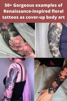 Tattoos are most certainly a form of art – but the tattoos you're about to see take it to the next level. There are plenty of floral tattoos out there. Many of them are dainty, small, and sometimes hidden. However, these floral tattoos are big, bold, and insanely beautiful. Kitchen Bar Design, Floral Tattoos, Most Beautiful Birds, Eye Makeup Steps, Fire Nails, Cool Hair Color, Body Mods, Stylish Dresses, Beautiful Tattoos