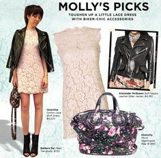 1274a5d3e1d Molly s tip of the week  Keep an uber-feminine dress from looking too  precious