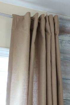 "Luxury Linen Blend 96"" Drapery Panels"