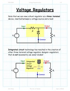Voltage #Regulator #EEE #Electronics