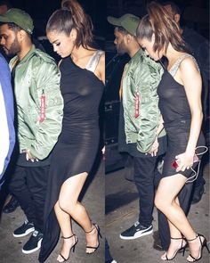 NEW. Selena & @theweeknd leaving dinner in NYC last night!  #SelenaGomez  #TheWeeknd