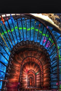 """Escalier """" atelier d'artiste"""" Paris"""