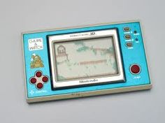 Donkey Kong Nintendo handheld. I still have this and it still works!