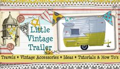 The cutest little vintage trailer on earth! http://www.LittleVintageTrailer.com