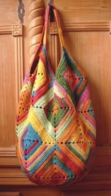 Pretty Crafty Things — crochet bag free pattern