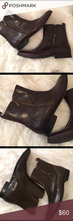 Guess men's boots Double zipper 💎gently used Guess Shoes