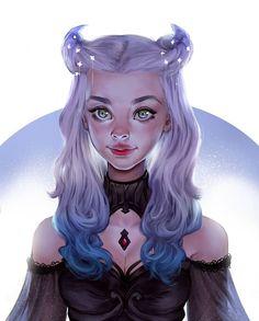 Fantasy Portraits, Character Portraits, Character Art, Character Design, Foto 3d, Animation Programs, Hair Sketch, Cute Girl Drawing, Digital Art Girl