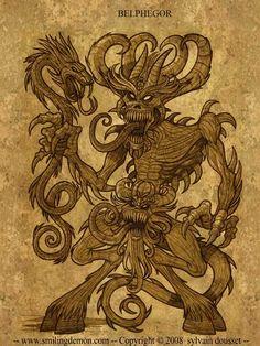 Belphegor Demon   Tirage papier photo brillant, signé ( dédicace personalisée sur ...
