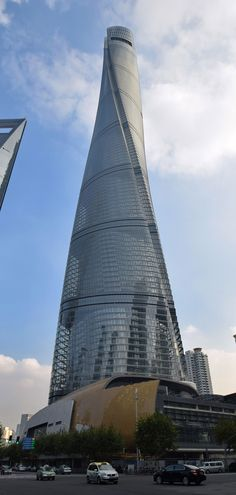 Shanghai Tower, Shanghai, China Council on Tall Buildings and Urban Habitat and Shanghai Tower officials unveil signboard confirming building as China's tallest and World's second-tallest.