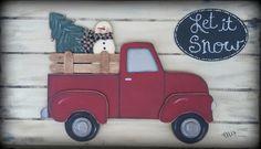 Old Truck Pattern template Seasonal Vintage Truck Fall Patterns, Wood Patterns, Craft Patterns, Painting Patterns, Dyi Crafts, Craft Stick Crafts, Craft Ideas, Yarn Crafts, Wood Crafts