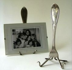 Repurposed Items fork frame