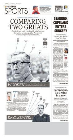 Newspaper Layout, Newspaper Design, Thunder City, Coach K, Editorial Design, News Design, Sports News, Esl, Infographics
