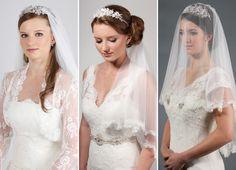 Soft, Draping Wedding Veils – Richard Designs