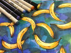 #Artri4ik #бананы #sketchmarkers #sketching #sketchmarkersclub @sketchbook_darknote