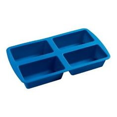 Cook and Freeze individual meals with this flexible silicone mini loaf pan, $16. http://lifehac.kr/pafR6C