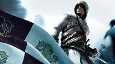 Download Wallpaper 1920x1080 Assassins creed, Assassins symbol, Background…