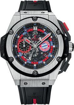 """Hublot King Power """"FC Bayern Munich"""" Watch"""