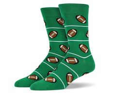 Football Theme Socks