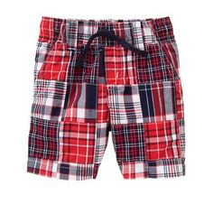Toddler Boys Americana Patchwork Shorts by Gymboree