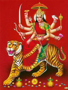 Sherawali Mata - Hindu Posters (Reprint On Paper - Unframed) Maa Image, Maa Durga Image, Durga Kali, Kali Hindu, Shiva Shakti, Durga Maa Pictures, Durga Images, Ganesh Images, Maa Wallpaper