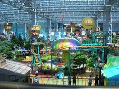 Minneapolis - Mall of America. Doubt it will happen but I'd love to visit this place.