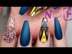 50 Easy Stiletto Nails Designs and Ideas! | NAIL DESIGNS 149 - http://www.nailtech6.com/50-easy-stiletto-nails-designs-and-ideas-nail-designs-149/