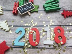 Cool New Year 2018 BG Image