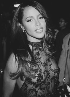 RandB singer and actress Aaliyah (born Aaliyah Dana Haughton) had her life and burgeoning career cut tragically short when she and eight others were killed in a plane crash in The Bahamas. She was 22 Rip Aaliyah, Aaliyah Style, Black Celebrities, Celebs, Beautiful Black Women, Beautiful People, Simply Beautiful, Meagan Good, Aaliyah Haughton