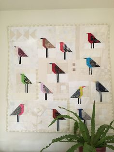 Bird quilt -- would someone please make me this quilt? :-)
